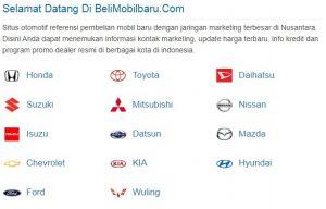 Jangan Beli Mobil Baru Sebelum Cek di belimobilbaru.com, Website Otomotif Bursa Jual Beli Mobil Baru Indonesia