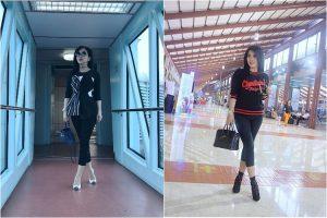 8 Gaya fashion selebriti Indonesia saat di bandara, mana favoritmu?