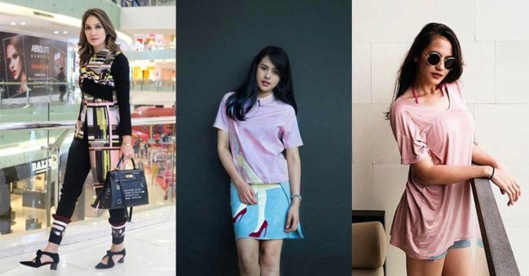 Outfit Mewah 7 Seleb Cantik Indonesia