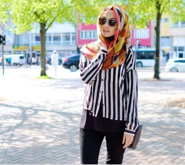 50 Inspirasi Gaya Hijab Selebgram Untuk Acara Lebaran