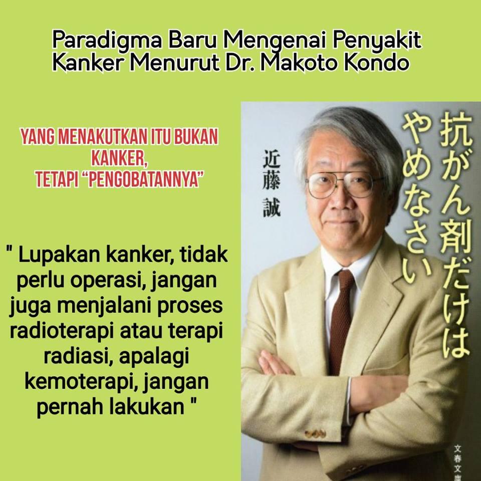 Pengobatan Kanker Makoto Kondo dari Jepang